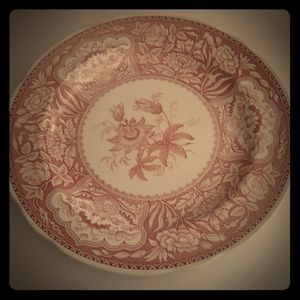 1- Decorative plate The Spode Archive Collection